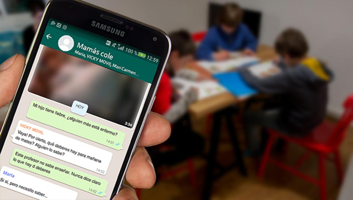 Chat que usan los padres para ayudar