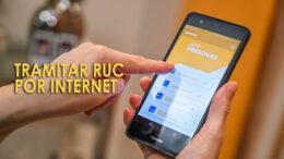 Sacar RUC en Internet