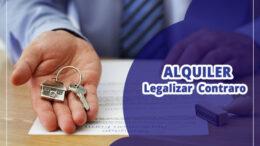 Legalizar el contraro de alquiler de una casa