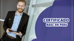 Como obtener certificado Basc en Peru