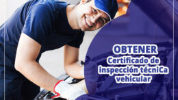 Certificado de revision tecnica vehicular