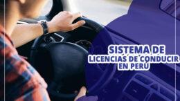 Sistema de Licencias de Conducir en Peru