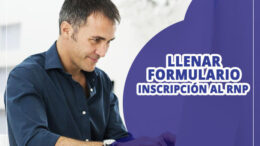 Formulario de Inscripcion al RNP