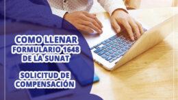 Formulario 1648 SUNAT